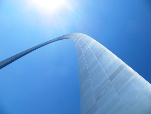 The Arch, St Louis - Gateway to the West