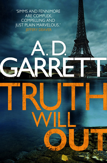 Front cover of the book Truth Will Out by author A. D. Garrett